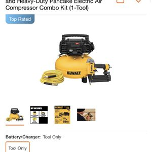 DeWalt Air Compressor, Hose, Nail Gun Combo for Sale in Freeport, NY