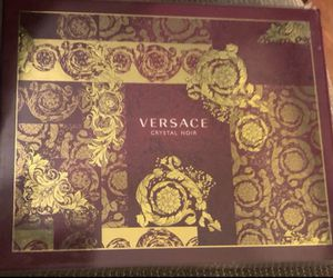 Versace Crystal Noir by Versace for Women 3 Piece Fragrance Gift Set 2018 New in box. for Sale in Hayward, CA