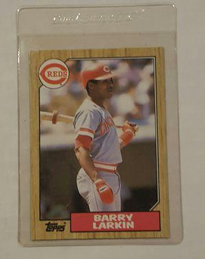87 Barry Larkin Topps for Sale in Hacienda Heights, CA