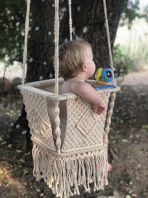 Macrame baby swing for Sale in Vista, CA
