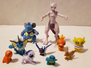 Mix Lot of 10 Nintendo Pokemon Burger King Figures 1999-2013 for Sale in St. Petersburg, FL