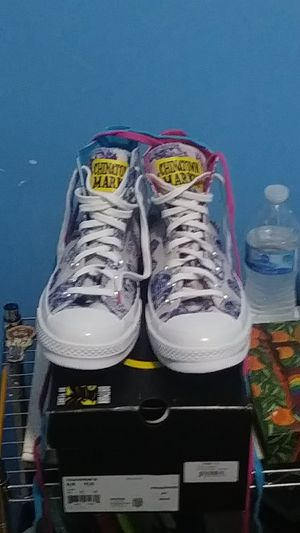 Coverse All Star x Chinatown Market batman 80yr aniversary Athletic sneaker for Sale in North Bergen, NJ