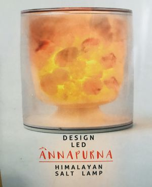 Design LED Annapurna Himalayan Salt Lamp for Sale in PORTER RANCH, CA