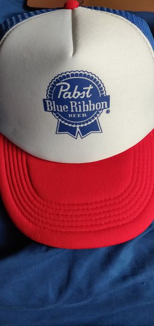Pabst blue ribbon hats for Sale, used for sale  Chesapeake, VA