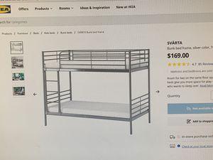 IKEA Svarta Bunk Beds for sale for Sale in Pompano Beach, FL