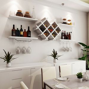 C8-18.....Set of 5 Wall Mount Wine Rack Set w/ Storage Shelves for Sale in City of Industry, CA