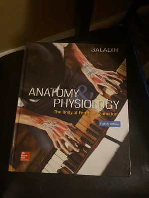 Anatomy and Physiology (Saladin) for Sale in North Miami, FL