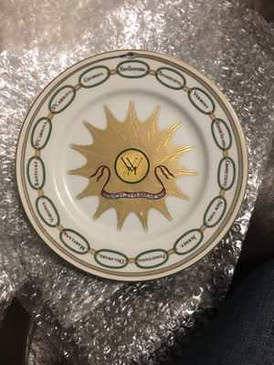 White house dessert collection plate for Sale in Dallas, TX