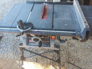 Craftsmen table saw for Sale in Oklahoma City, OK
