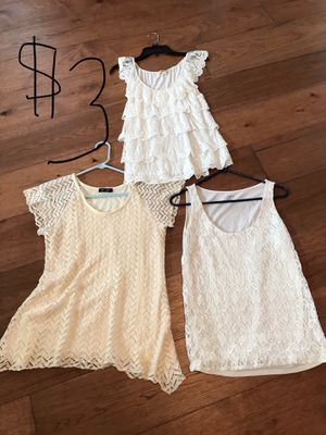 Women's clothes tops, dresses, capris for Sale in Round Rock, TX