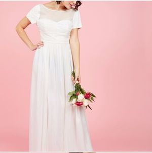 Modcloth Beaded Wedding dress for Sale in Villa Park, IL