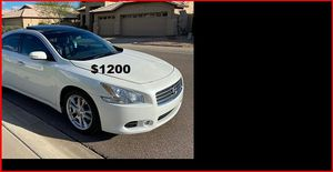 Price$12OO Nissan Maxima for Sale in Sioux Falls, SD