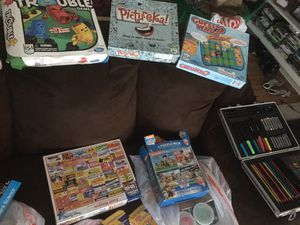 Board games, puzzles & Card games all for $35 OBO for Sale in Los Angeles, CA