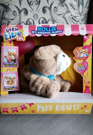 Little Live Pets - Rollie My Kissing Puppy for Sale in Tampa, FL