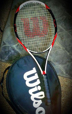 RARE! Wilson (K)Factor (K)Bold 100 sq.in. Tennis Racket Grip 4 5/8 L5! for Sale in Fairfax, VA