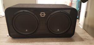 "JL AUDIO 12"" pro 0 in sealed Bassworxs for Sale in Tacoma, WA"