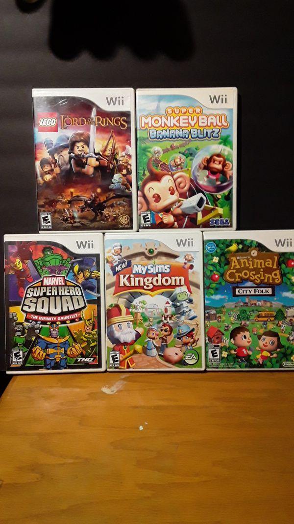 Wii games (5)
