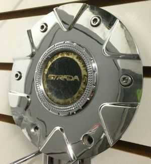 STRADA Chrome Wheel Center Cap #S19 62322295F-1 Rim Hubcap Middle Cover Used ONE for Sale in Phoenix, AZ
