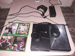 Xbox ONE, Headphone set, 4 video games for Sale in Niederwald, TX