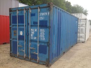 Used Containers- 20' WWT Shipping Cargo Containers for Sale in Bloomington, IL