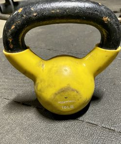 10 Lb Steel/rubber Coated Kettle Bell for Sale in El Cajon,  CA