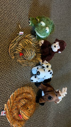 Webkinz Stuffed Animals (no tags) for Sale in New Bedford, MA