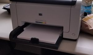 HP Laser Color Printer CP1025nw for Sale in Pflugerville, TX