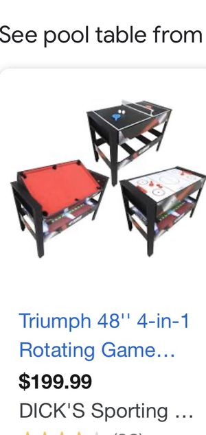 Pool table for Sale in Bensalem, PA