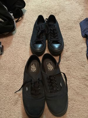 Converse and vans! for Sale in Odessa, TX
