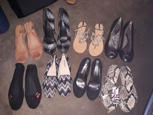 Sandles,boots,tennis shoes for Sale in Montclair, CA