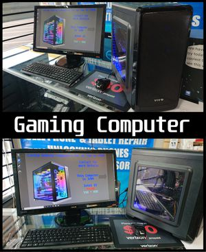 Intel i5 Rx 480 8gb Gaming pc Computer Desktop for Sale in Glendale, AZ