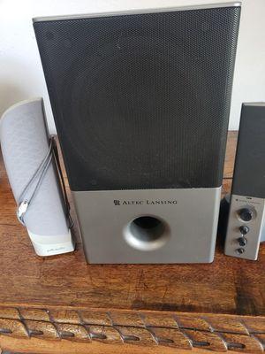 Altec Lansing sub speaker system for Sale in Missoula, MT