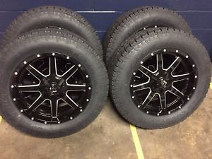 """(5) 20"""" Fuel D610 Maverick 33"""" AT Wheel & Tire Package 5x5 Jeep Wrangler JK for Sale in Bartow, FL"""
