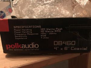 Polk audio speaker for Sale in Clermont, FL