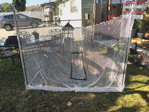 Portable backstop by franklin for Sale in Westminster, CA