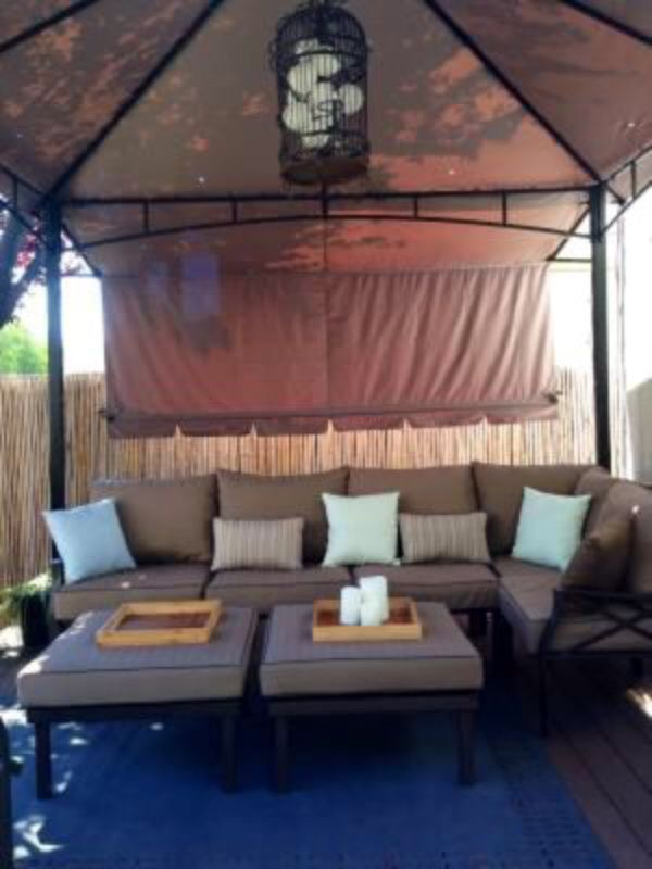 New!! Outdoor sectional, 7 piece sectional, patio furniture, patio chairs