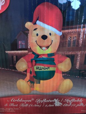 Disney's Pooh Bear Christmas inflatable for Sale in Glendale, AZ