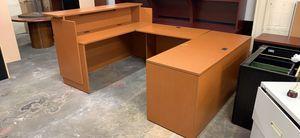 U shaped desk for Sale in Gaithersburg, MD