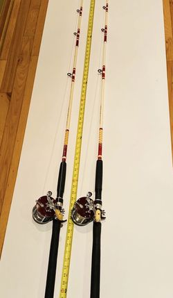 Trolling, downrigging rods with reels combo for Sale in Palos Heights,  IL