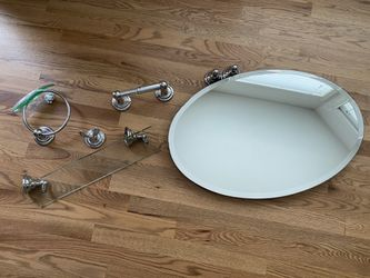 Bathroom mirror and accessories for Sale in Duvall,  WA