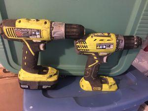 18v Ryobi Drills for Sale in Philadelphia, PA