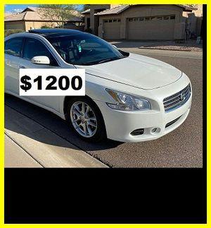 Price$1200 Nissan Maxima O9 for Sale in Bernice, LA