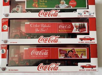 M2 COCA COLA CHASE HAULERS 750pcs world wide 1/64 Scale for Sale in Los Angeles,  CA
