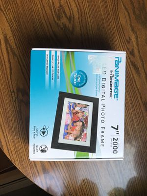 Pandigital Panimage 7-Inch LED Digital Picture Frame Black for Sale in Rochester, NY