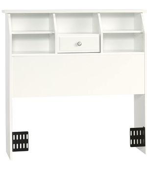 Bookcase Headboard, Twin, Soft White finish for Sale in Plano, TX
