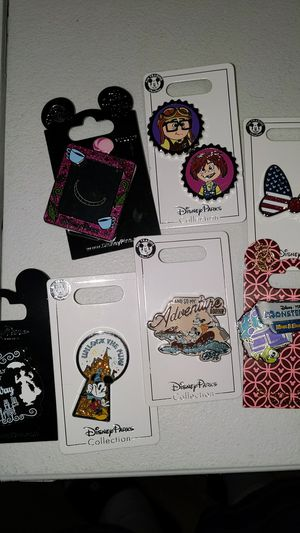 Disney collectible pins new 5$ each for Sale in Pico Rivera, CA