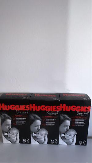 Huggies diaper size 2 32count for Sale in Phoenix, AZ
