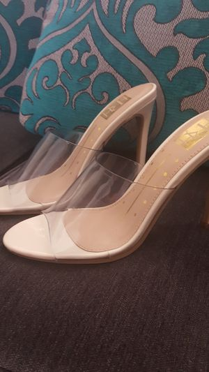 Clear Transparent heels New! for Sale in Ontario, CA