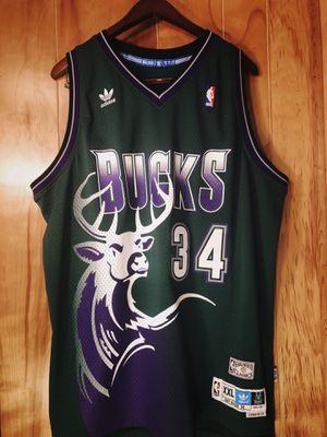 Milwaukee Bucks Ray Allen Adidas Jersey Mens XXL for Sale in Lakeland, FL