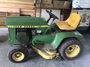 John Deere 110 tractor for Sale in Hampshire, IL